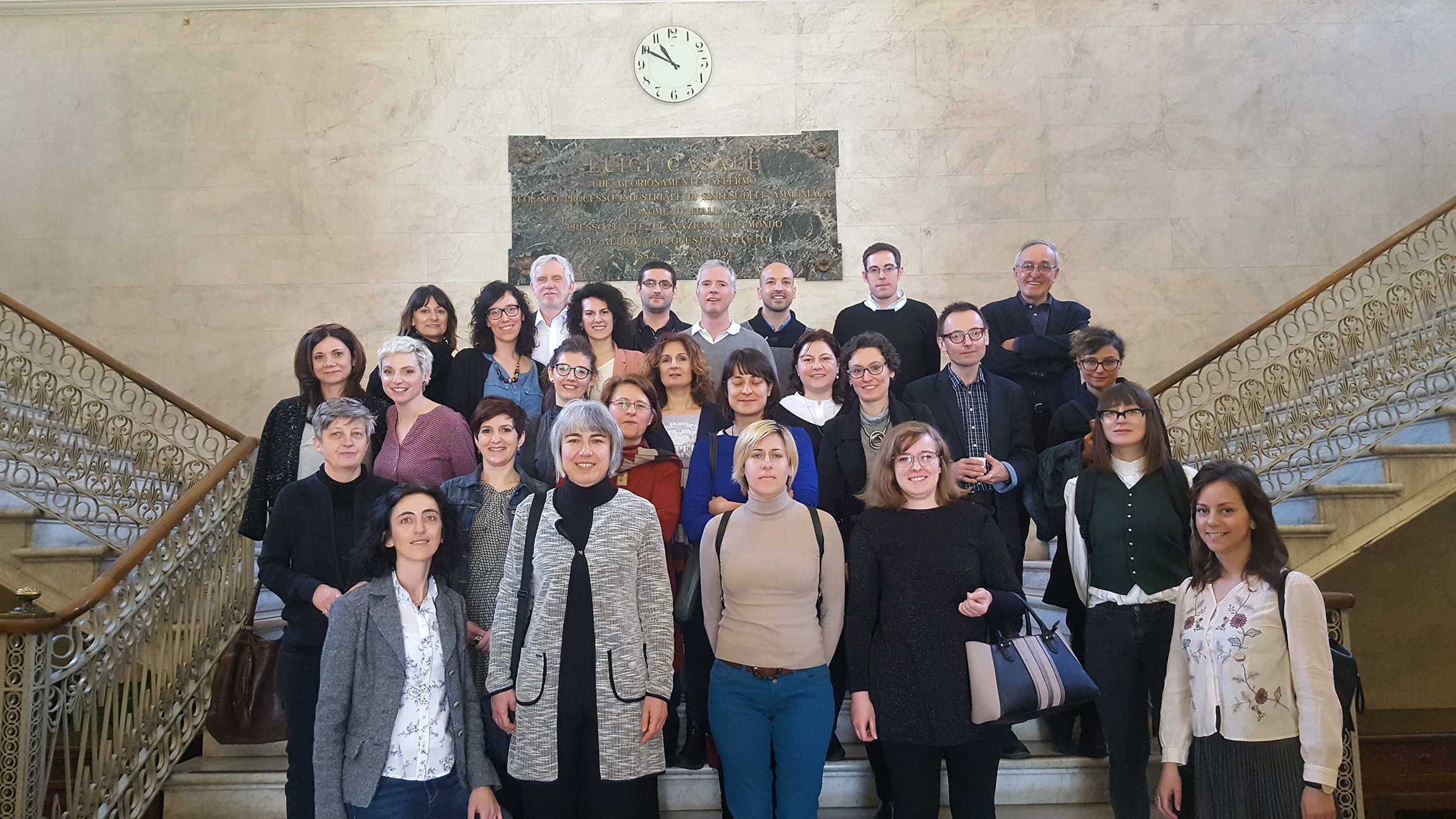 Kick-off meeting of the CAPuS project (Turin, Italy)