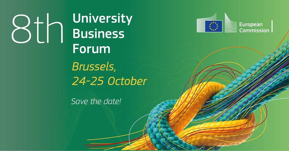 Participation at the 8th University Business Forum in Brussels, Belgium