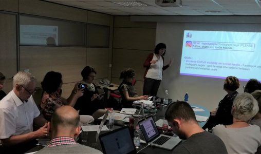 THIRD MEETING OF CAPuS PROJECT
