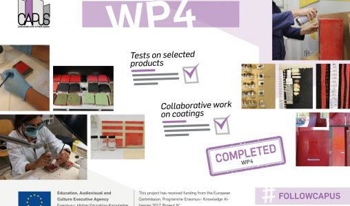 Work Package 4 (Testing of the selected products): Final Report