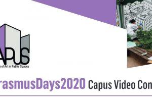 #ERASMUSDAYS2020- CAPuS VIDEO CONTEST