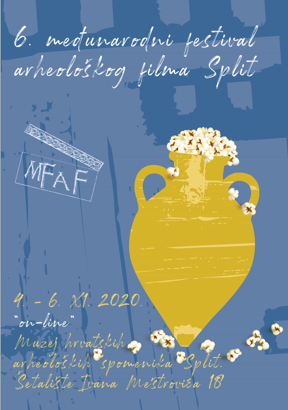The documentary 'Time Has Not Helped' screened at the 6th International Archaeology Film Festival – MFAF in Split, Croatia
