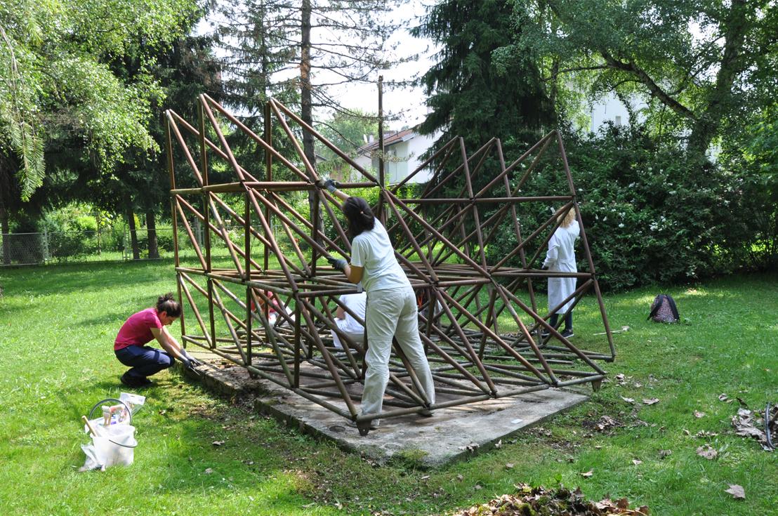 8th Conservation-Restoration Workshop in the Sisak Steelworks Sculpture Park
