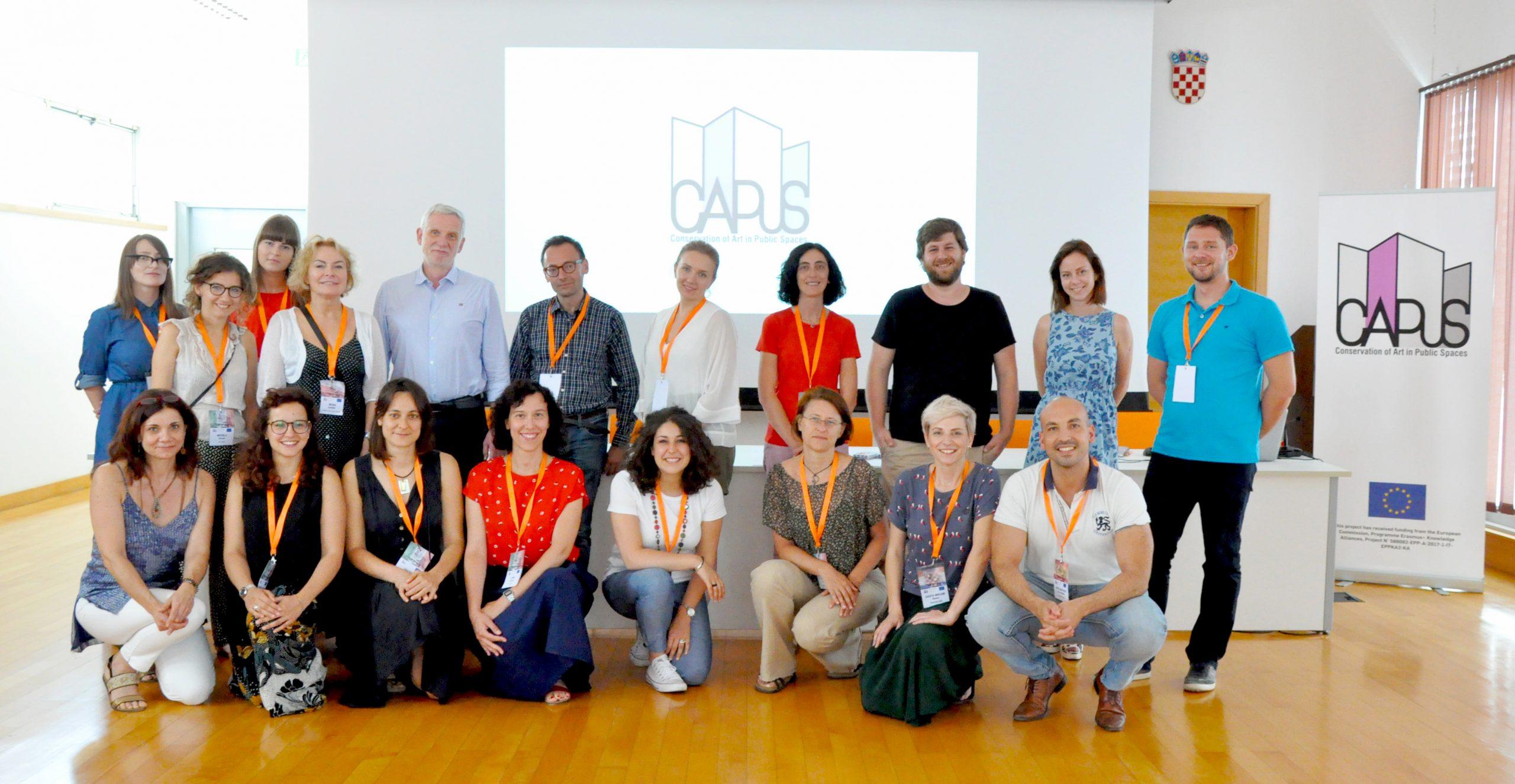 Second meeting of the CAPuS project (Split, Croatia)